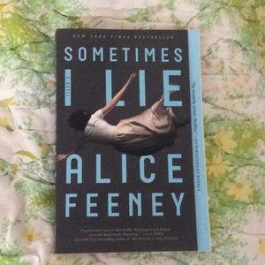 Sometimes I lie book